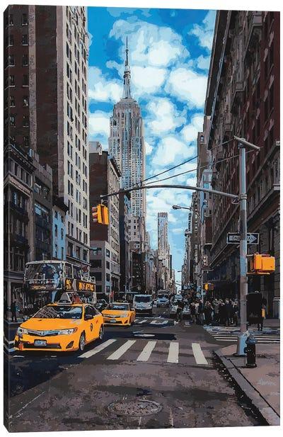 Empire State Canvas Art Print