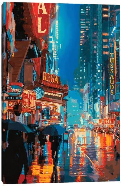 Impression Broadway Canvas Art Print