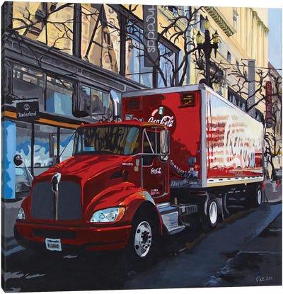 Coca Cola Canvas Art Print