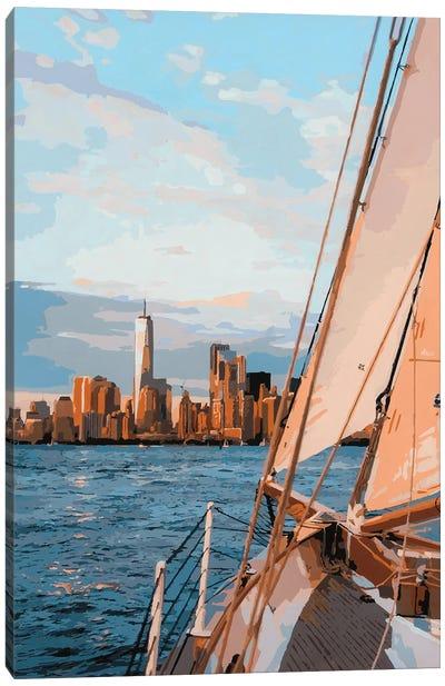 Hudson River Canvas Art Print