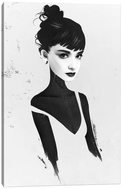 Oh, Audrey Canvas Art Print
