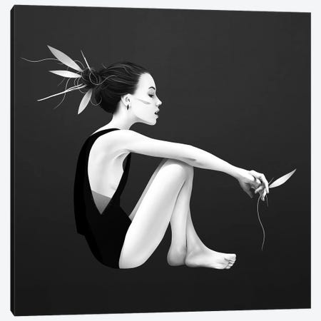 Skyling Canvas Print #RIR37} by Ruben Ireland Canvas Art Print