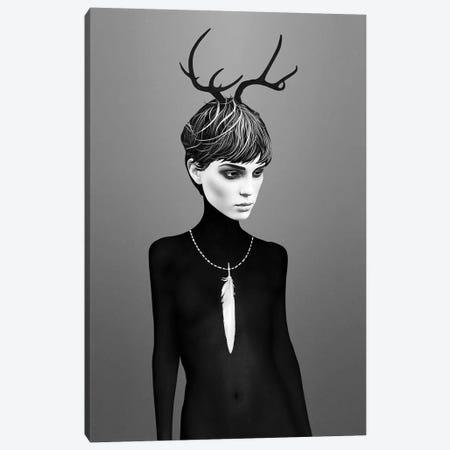 The Cold Canvas Print #RIR42} by Ruben Ireland Art Print