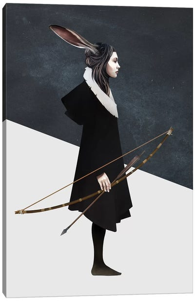 The Hunt Canvas Art Print