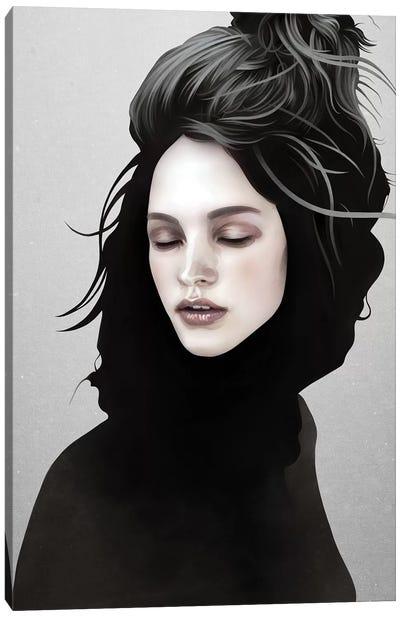 Elsewhere Girl Canvas Art Print