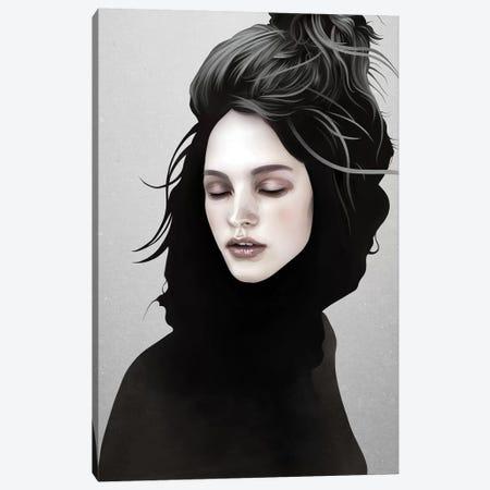 Elsewhere Girl Canvas Print #RIR8} by Ruben Ireland Art Print