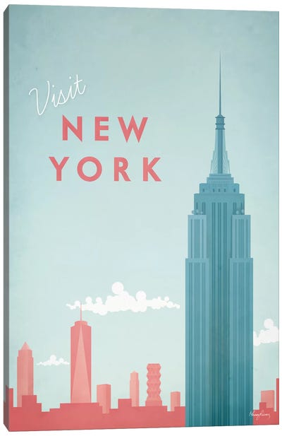 New York Canvas Print #RIV10