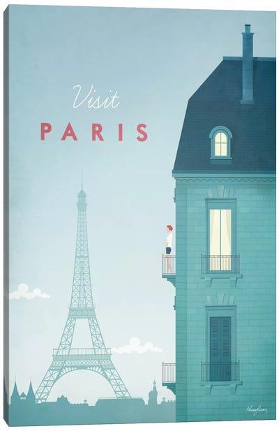 Paris Canvas Print #RIV11