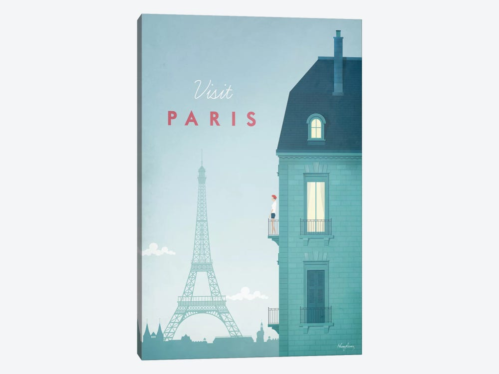 Paris by Henry Rivers 1-piece Art Print