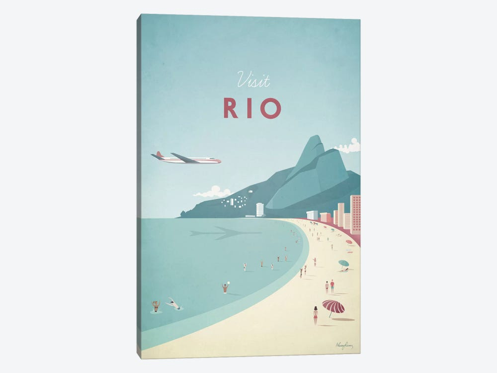 Rio by Henry Rivers 1-piece Canvas Artwork
