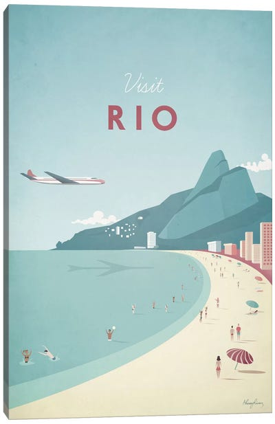 Rio Canvas Art Print