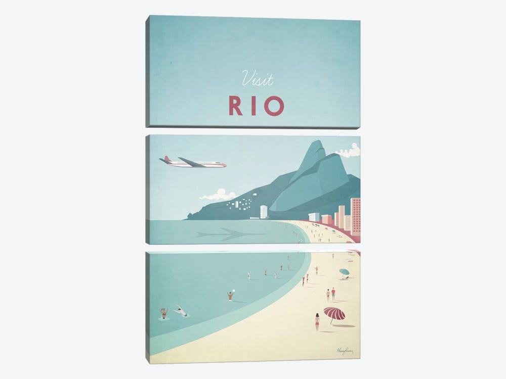 Rio 3-piece Canvas Wall Art