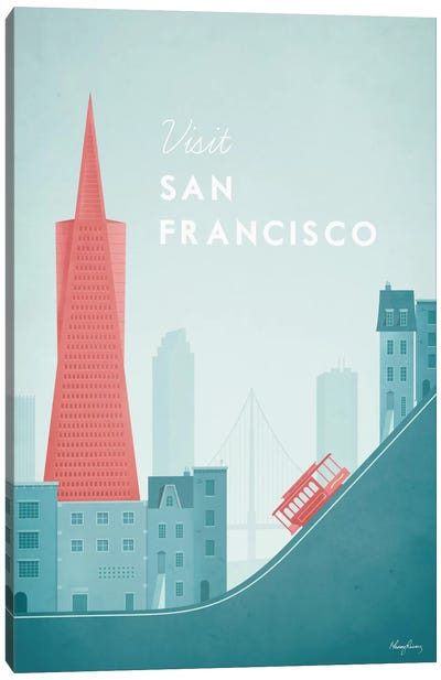 San Francisco Canvas Art Print