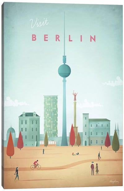 Berlin Canvas Art Print