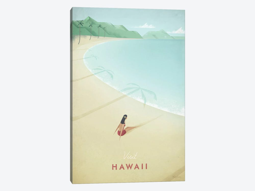 Hawaii by Henry Rivers 1-piece Art Print