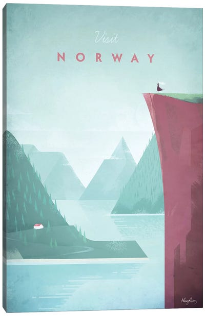 Visit Norway Canvas Art Print