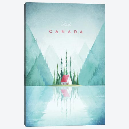 Canada Canvas Print #RIV24} by Henry Rivers Canvas Art