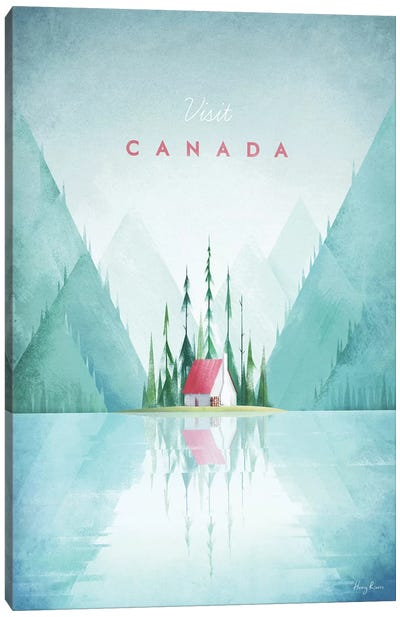 Canada Canvas Art Print