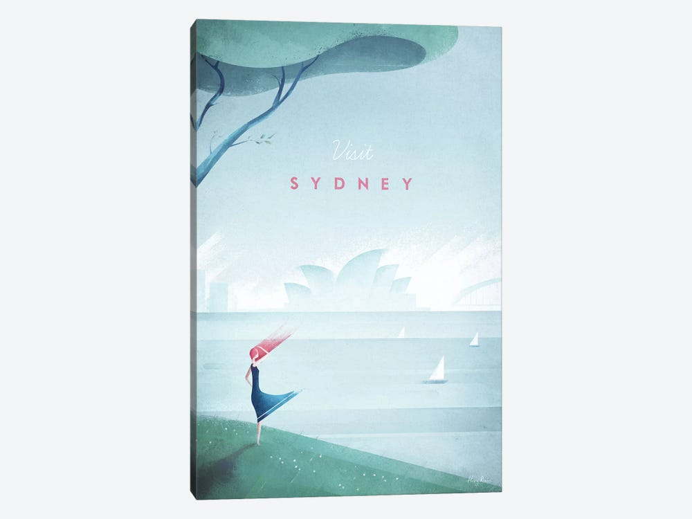Sydney by Henry Rivers 1-piece Canvas Artwork