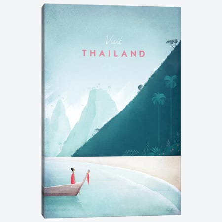 Thailand Canvas Print #RIV26} by Henry Rivers Canvas Art