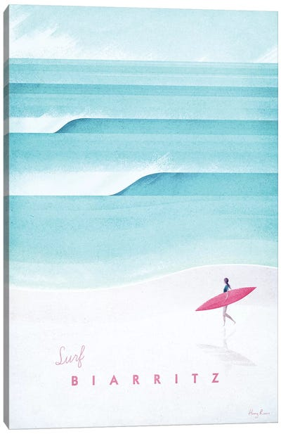Biarritz Canvas Art Print