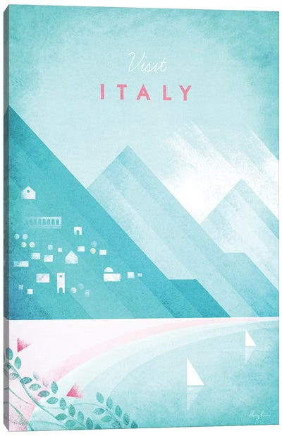 Italy Canvas Art Print