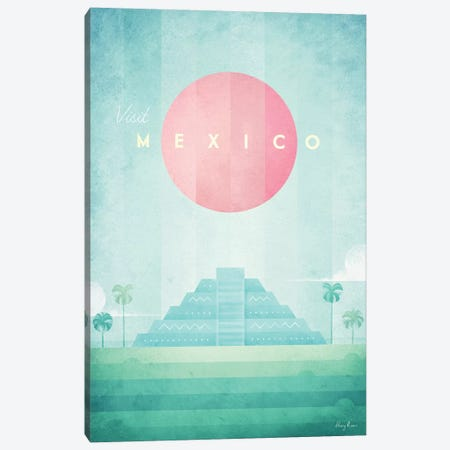 Mexico Canvas Print #RIV29} by Henry Rivers Canvas Print
