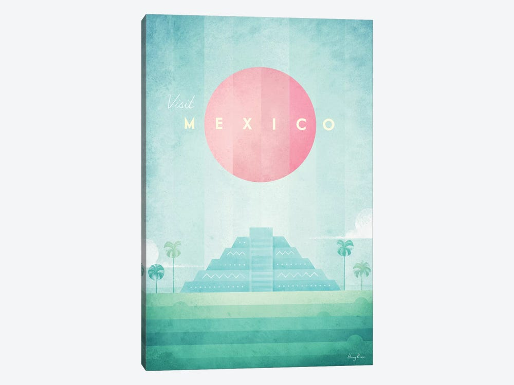 Mexico by Henry Rivers 1-piece Canvas Artwork