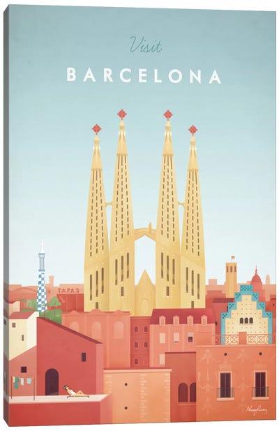 Barcelona Canvas Print #RIV2