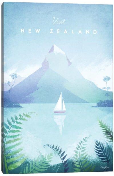 New Zealand Canvas Art Print