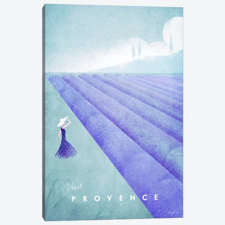 Provence Canvas Print #RIV31} by Henry Rivers Canvas Artwork