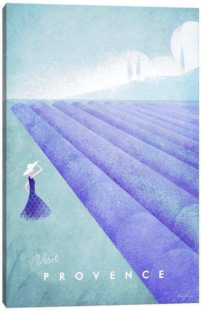 Provence Canvas Art Print