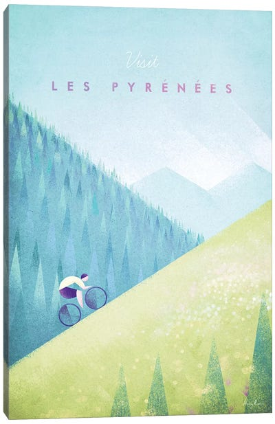 Pyrenees Canvas Art Print