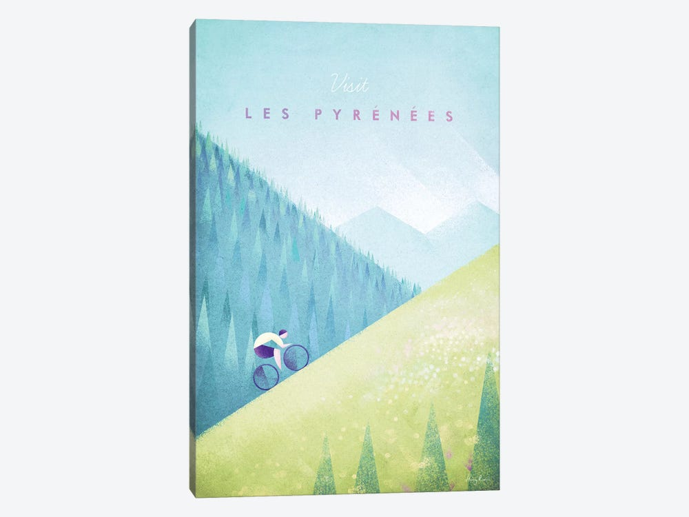Pyrenees by Henry Rivers 1-piece Canvas Wall Art