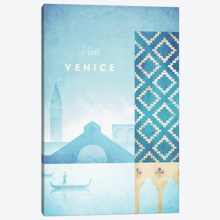 Venice Canvas Print #RIV33} by Henry Rivers Canvas Artwork