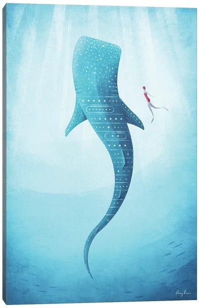 Whale Shark Canvas Art Print