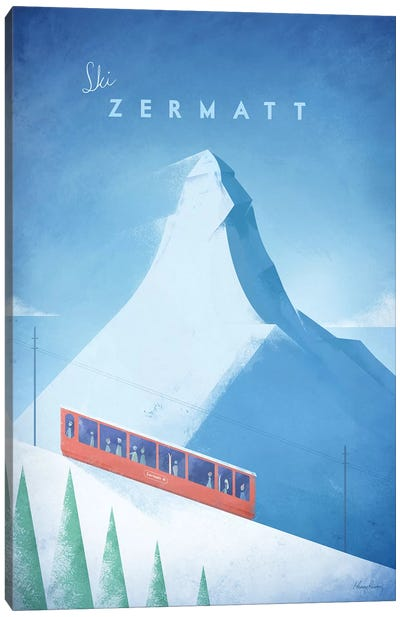 Zermatt Canvas Art Print