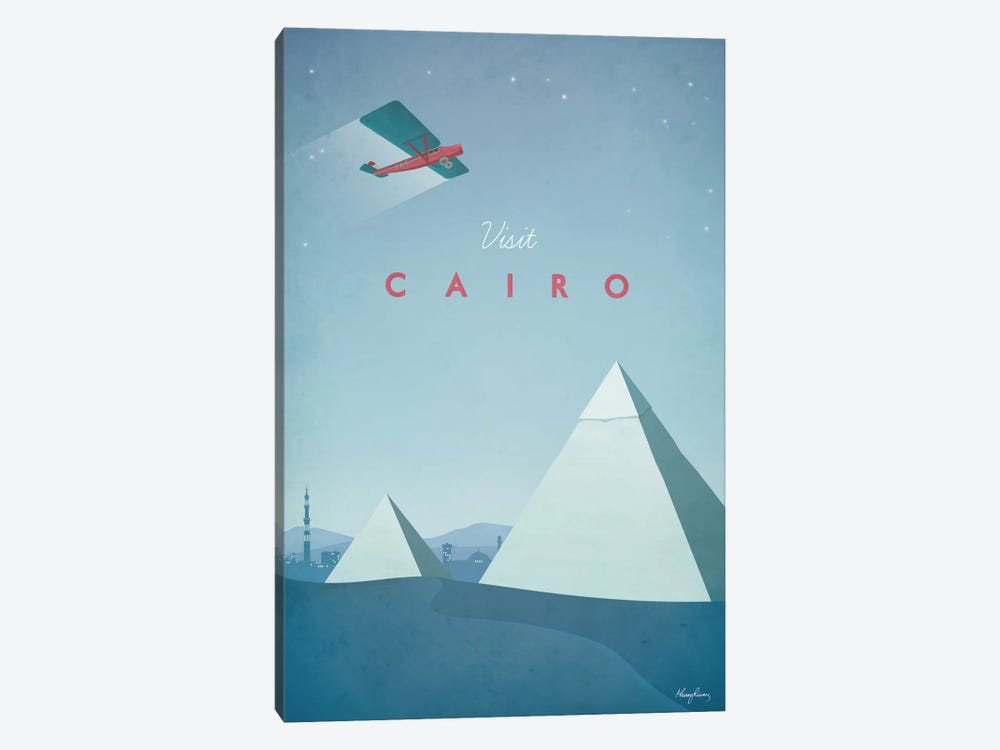 Cairo by Henry Rivers 1-piece Canvas Artwork