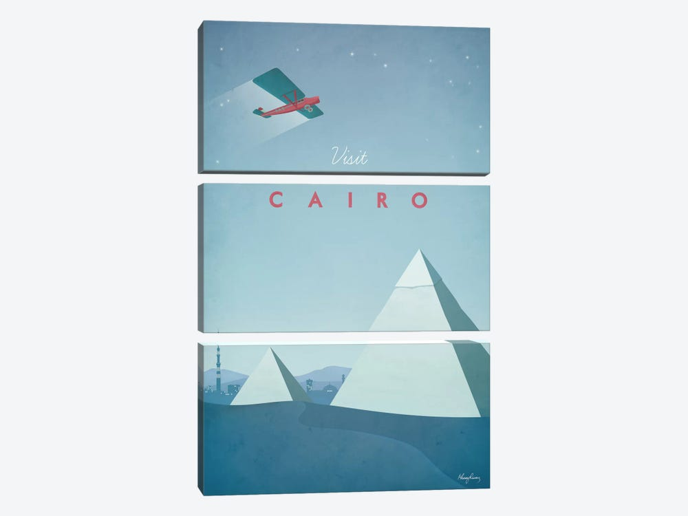 Cairo by Henry Rivers 3-piece Canvas Artwork