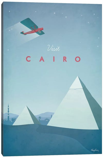 Cairo Canvas Art Print