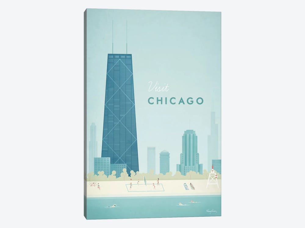 Chicago by Henry Rivers 1-piece Art Print