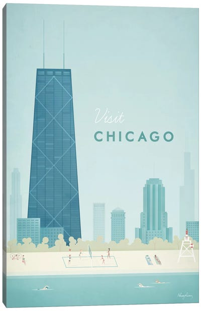 Chicago Canvas Art Print