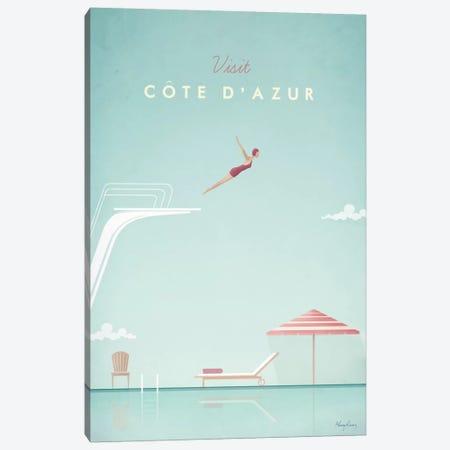 Cote d'Azur 3-Piece Canvas #RIV5} by Henry Rivers Canvas Artwork