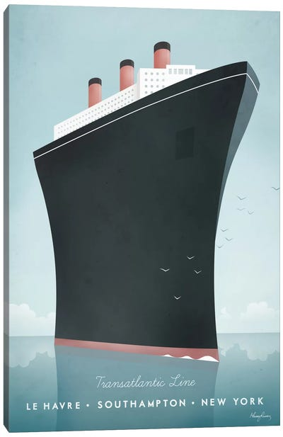 Cruise Ship Canvas Print #RIV6