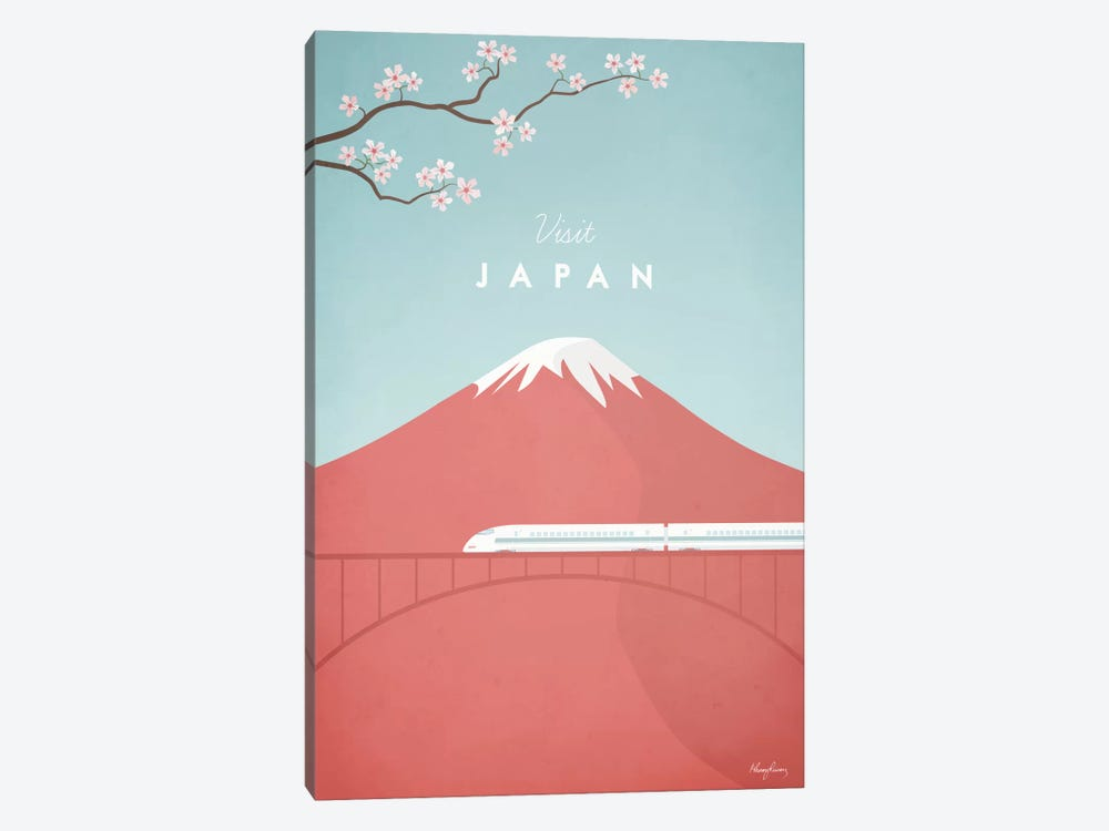 Japan by Henry Rivers 1-piece Canvas Wall Art