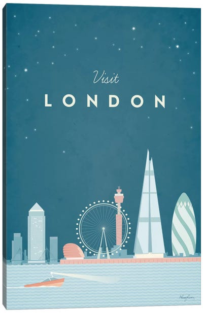 London Canvas Art Print