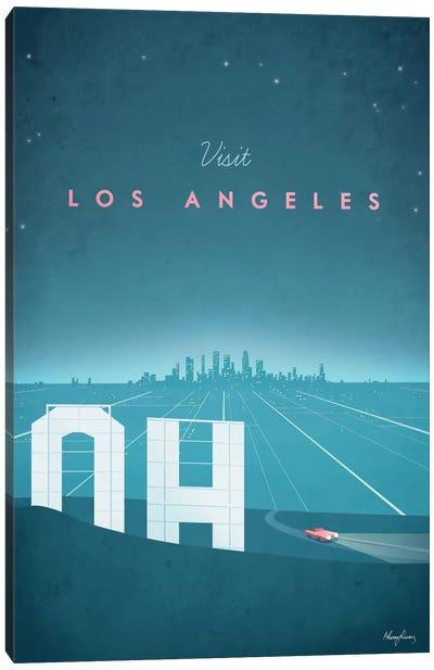 Los Angeles Canvas Print #RIV9
