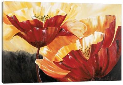 The Three Poppies Canvas Art Print