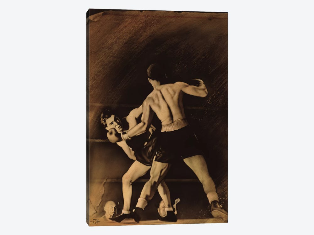 The Boxing Match by Rob Johnson 1-piece Canvas Wall Art
