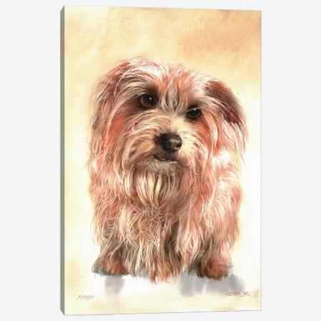 Dog II Canvas Print #RJR39} by REME Jr Canvas Wall Art